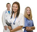 Doctor,Nurse and Intern Stock Photos