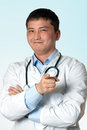 Doctor recommends Stock Photography
