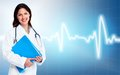 Doctor woman. Health care. Royalty Free Stock Photo