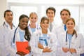 Doctors in a hospital Royalty Free Stock Photo
