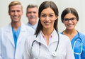 Doctors in hospital Royalty Free Stock Photo