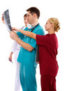 Doctors and nurse Stock Photography