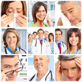 Doctors and patients Royalty Free Stock Photo