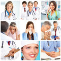 Doctors and patients Stock Photo