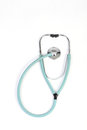Doctors stethoscope on white background Stock Image