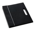 Document folder a black on a white background Royalty Free Stock Photography