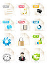 Document Icons Royalty Free Stock Photos