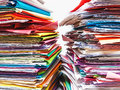 Documents, files, records Royalty Free Stock Photo