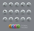 Documents Icons - 2 of 2 // Pearly Series Royalty Free Stock Images