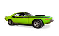 Dodge challenger isolated on white Stock Photography