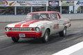 Dodge drag car Royalty Free Stock Photo
