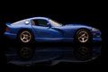 Dodge viper krivoy rog ukraine jan toy on black backgrond saturday january Stock Image