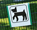 Dog area Stock Photo