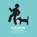 Dog Biting Symbol