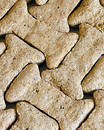 Dog Bone Pattern Stock Photography