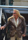 Dog the bounty hunter arriving at cmt awards in nashville tn Royalty Free Stock Image