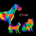 Dog chihuahua vector cartoon pedigree friendship small
