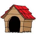Dog house Royalty Free Stock Photo