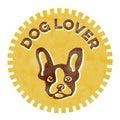 Dog Lover badge