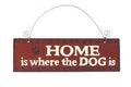 Dog sign Royalty Free Stock Photo