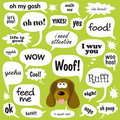 Dog Talk Royalty Free Stock Photo