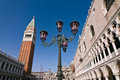 Doges Palace and campanile in Venice Royalty Free Stock Photos