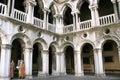 Doges palace inside, Venice Royalty Free Stock Photo