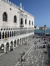 Doges Palace - St Marks Square - Venice - Italy Royalty Free Stock Photo