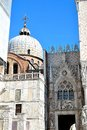 the Doges Palace in Venice Royalty Free Stock Photo