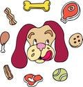 Doggie Treats Royalty Free Stock Photo