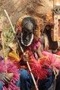 Dogon mask dances Royalty Free Stock Photo