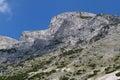 Dogs Head Mountain. Austria, Tirol, Hinterhornalm Royalty Free Stock Photo