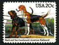 Dogs US Postage Stamp