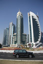 Doha financial and administrative district Royalty Free Stock Photo