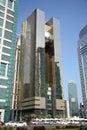Doha Stock Exchange Royalty Free Stock Photo