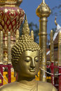 Doi Suthep Buddhist Temple - Chiang Mai - Thailand Royalty Free Stock Photo