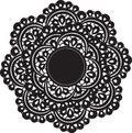 Doily Stock Photo