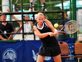 Dokic in Bucharest WTA event Stock Image