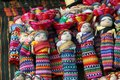 Doll guatemala lucky rag at chichicastenango market in Royalty Free Stock Photo