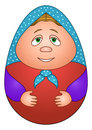 Doll matreshka Royalty Free Stock Image