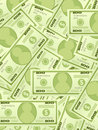 Dollar banknotes background vertical Stock Photos