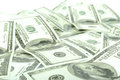 Dollar bills background of Royalty Free Stock Image