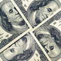 Dollar bills background of Stock Images