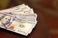 Dollar bills Royalty Free Stock Photo
