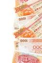 Dollar Hong Kong Arkivfoton