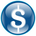 Dollar Icon Royalty Free Stock Image