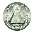 Dollar pyramid Stock Photos