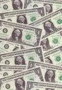 Dollar texture Royalty Free Stock Photography
