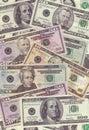 Dollar texture Stock Photo