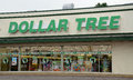 Dollar Tree store Royalty Free Stock Photo